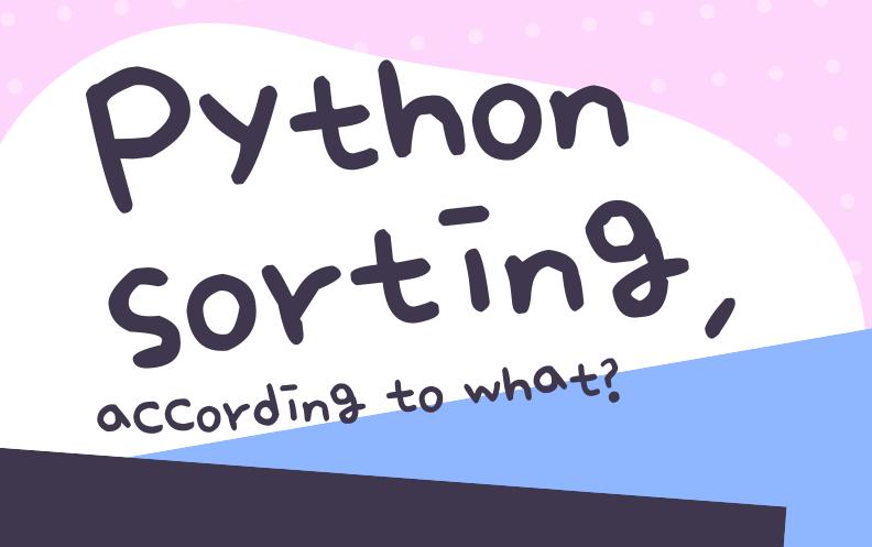 Python sorting